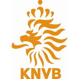 st111 オランダ代表 エンブレム型ステッカー|footballfan