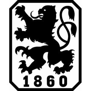 st125 1860ミュンヘン(A) エンブレム型ステッカー|footballfan