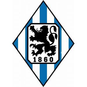 st126 1860ミュンヘン(B) エンブレム型ステッカー|footballfan