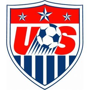st156  アメリカ代表 エンブレム型ステッカー footballfan