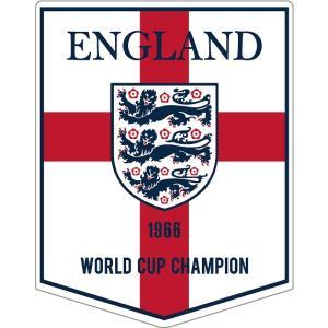 st184 イングランド代表 ペナント型ステッカー|footballfan