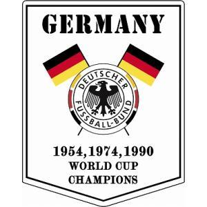 st186 ドイツ代表 ペナント型ステッカー|footballfan