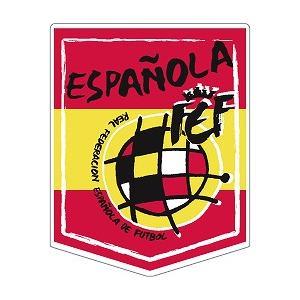 st187 スペイン代表 ペナント型ステッカー|footballfan
