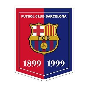 st199 FCバルセロナ 100周年 ペナント型ステッカー|footballfan