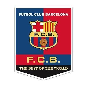 st200 FCバルセロナ ペナント型ステッカー|footballfan