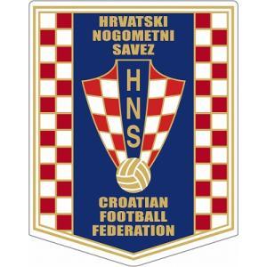 st208 クロアチア代表  ペナント型ステッカー|footballfan