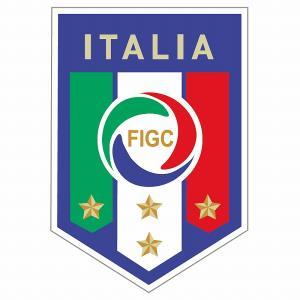 st216 イタリア代表(4STARS) エンブレム型ステッカー footballfan