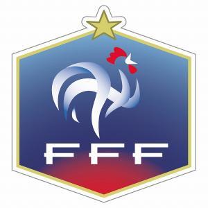 st217 フランス代表 エンブレム型ステッカー|footballfan