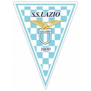ラツィオ  トライアングルペナント型ステッカー|footballfan