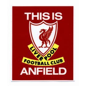 リバプールFC 「THIS IS ANFIELD」 ステッカー[st282]|footballfan