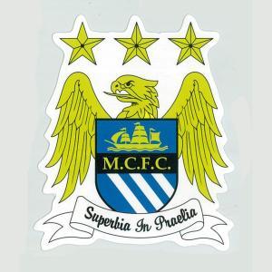 マンチェスターシティ(B) エンブレム・ステッカー(イングランド/プレミアリーグ)[st306] footballfan