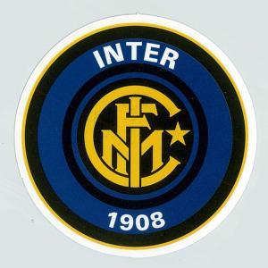 インテルミラノ(B) エンブレム・ステッカー(イタリア/セリエA)[st311]|footballfan