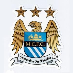 マンチェスター・シティFC エンブレム・ステッカー〔st404〕 footballfan