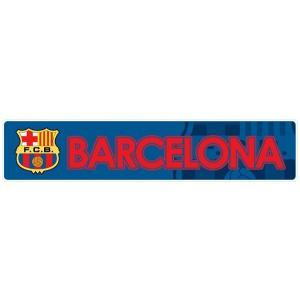FCバルセロナ(青) バンパーステッカー|footballfan