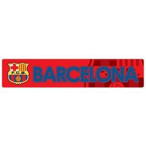 FCバルセロナ(赤) バンパーステッカー|footballfan