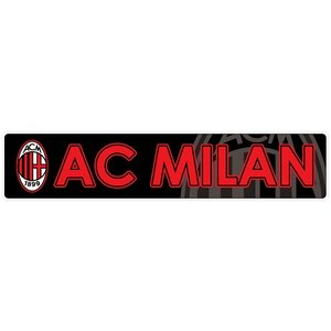 ACミラン(黒) バンパーステッカー|footballfan