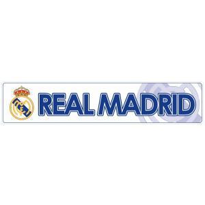 レアルマドリッド(白) バンパーステッカー|footballfan