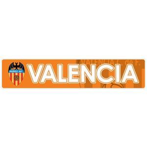 バレンシアCF(オレンジ) バンパーステッカー|footballfan