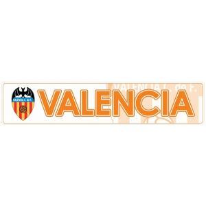 バレンシアCF(白) バンパーステッカー|footballfan