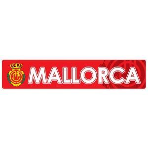 マジョルカ(赤) バンパーステッカー|footballfan
