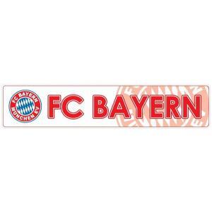 FCバイエルンミュンヘン(白) バンパーステッカー|footballfan