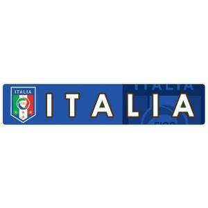 イタリア代表(青) バンパーステッカー footballfan