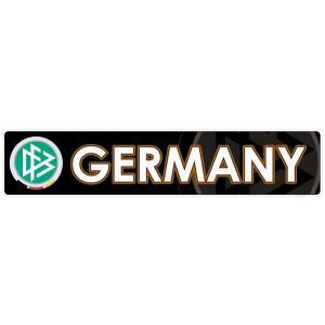 ドイツ代表(黒) バンパーステッカー|footballfan