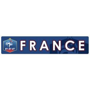 フランス代表(青) バンパーステッカー|footballfan