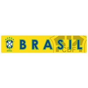 ブラジル代表(黄) バンパーステッカー|footballfan