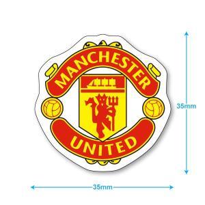 マンチェスターユナイテッド ミニステッカー(携帯シール)|footballfan