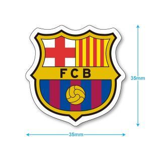 FCバルセロナ ミニステッカー(携帯シール)|footballfan