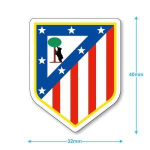 アトレティコマドリー ミニステッカー(携帯シール)|footballfan