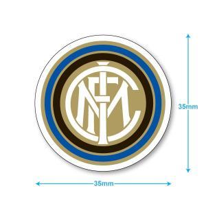 インテルミラノ ミニステッカー(携帯シール)|footballfan