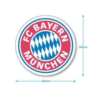 バイエルンミュンヘン ミニステッカー(携帯シール)|footballfan