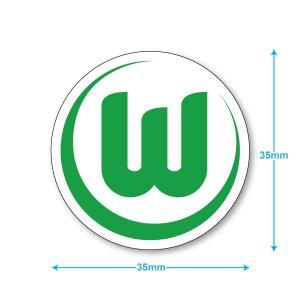 ヴォルフスブルグ ミニステッカー(携帯シール)|footballfan