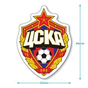 CSKAモスクワ ミニステッカー(携帯シール)|footballfan