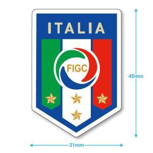 イタリア代表 ミニステッカー(携帯シール) footballfan
