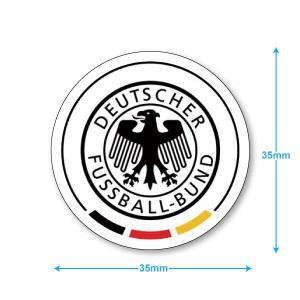 ドイツ代表 ミニステッカー(携帯シール)|footballfan