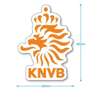 オランダ代表 ミニステッカー(携帯シール)|footballfan