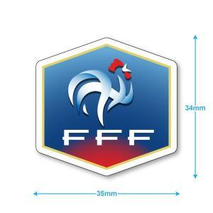 フランス代表 ミニステッカー(携帯シール)|footballfan