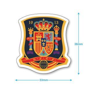 スペイン代表 ミニステッカー(携帯シール)|footballfan