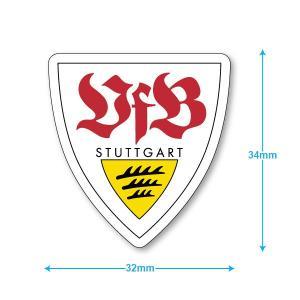 シュツットガルト ミニステッカー(携帯シール)|footballfan