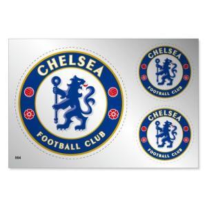 チェルシー シルバーステッカー|footballfan