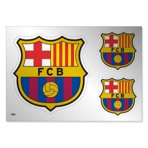 FCバルセロナ シルバーステッカー|footballfan