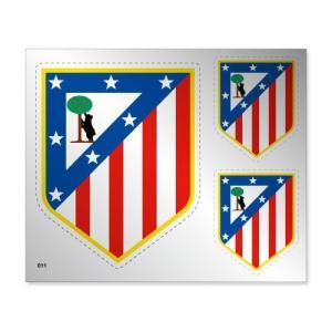 アトレティコマドリー シルバーステッカー|footballfan