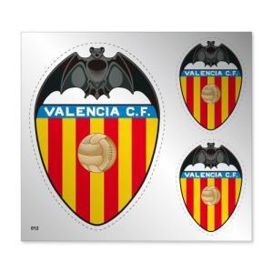 バレンシアCF シルバーステッカー|footballfan