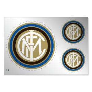 インテルミラノ シルバーステッカー|footballfan