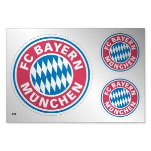 バイエルンミュンヘン シルバーステッカー|footballfan