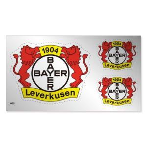 レバークーゼン シルバーステッカー|footballfan