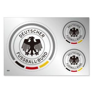 ドイツ代表 シルバーステッカー|footballfan